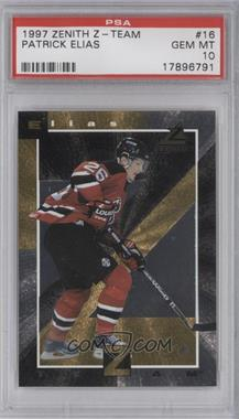 1997-98 Pinnacle Zenith - Z Team - Gold #16 - Patrik Elias [PSA 10]