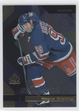 1997-98 SP Authentic - [Base] - Sample #99 - Wayne Gretzky