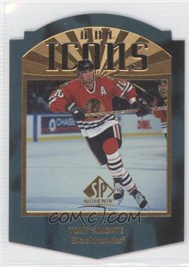 1997-98 SP Authentic - NHL Icons - Die-Cut #I29 - Tony Amonte /100
