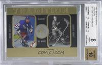 Wayne Gretzky, Gordie Howe [BGS8NM‑MT] #/158