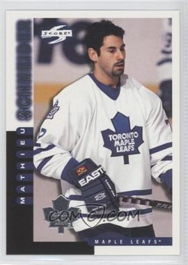 1997-98 Score Team Collection - Toronto Maple Leafs #10 - Mathieu Schneider