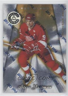 1997-98 Totally Certified - [Base] - Platinum Gold #38 - Steve Yzerman /69