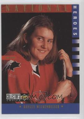 1997-98 Upper Deck Collector's Choice - [Base] #279 - National Heroes - Hayley Wickenheiser