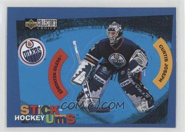 1997-98 Upper Deck Collector's Choice - Stick-Ums #S6 - Curtis Joseph