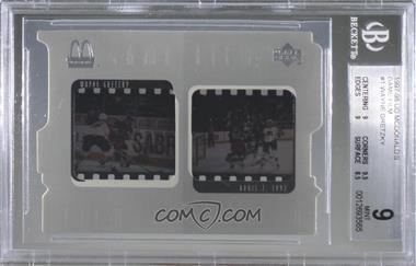 1997-98 Upper Deck McDonald's - Game Film #F1 - Wayne Gretzky [BGS9MINT]