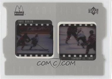 1997-98 Upper Deck McDonald's - Game Film #F6 - Paul Kariya