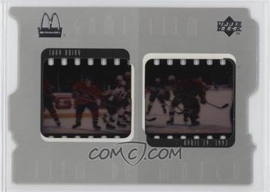 1997-98 Upper Deck McDonald's - Game Film #F8 - Saku Koivu