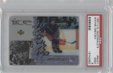 1997-98 Upper Deck McDonald's - Ice #MCD1 - Wayne Gretzky [PSA9]
