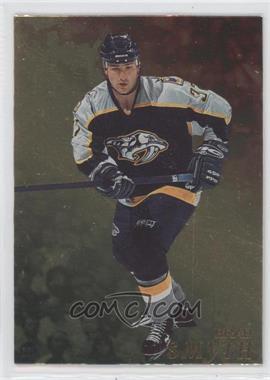 1998-99 Be A Player - [Base] - Gold #75 - Brad Smyth