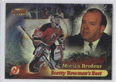 1998-99 Bowman's Best - Scotty Bowman' Best - Refractor #SB2 - Martin Brodeur /200