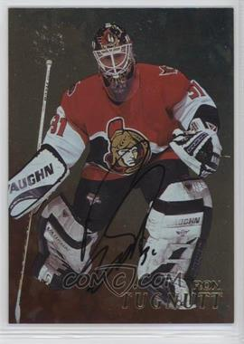 1998-99 In the Game Be A Player - [Base] - Gold Autographs #244 - Ron Tugnutt