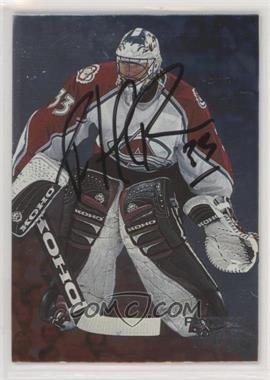 1998-99 In the Game Be A Player - [Base] - Silver Autographs #34 - Patrick Roy [NoneEXtoNM]