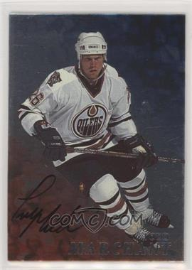 1998-99 In the Game Be A Player - [Base] - Silver Autographs #55 - Todd Marchant