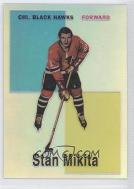 1998-99 O-Pee-Chee Chrome - Blast from the Past Reprints - Refractor #8 - Stan Mikita