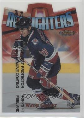 1998-99 Topps Finest - Red Lighters #R9 - Wayne Gretzky