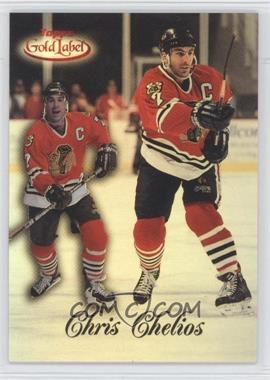 1998-99 Topps Gold Label - [Base] - Class 2 Red Label #3 - Chris Chelios /50