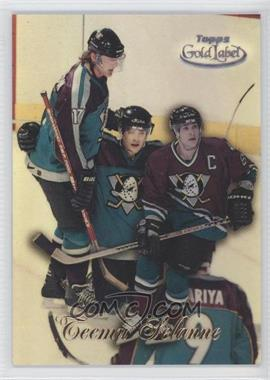 1998-99 Topps Gold Label - [Base] - Class 3 Black Label #7 - Teemu Selanne
