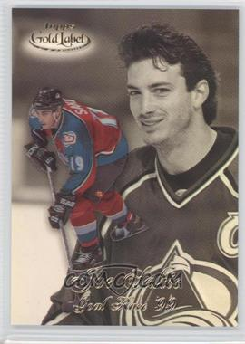 1998-99 Topps Gold Label - Goal Race '99 #GR10 - Joe Sakic