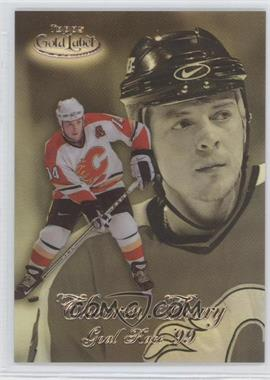 1998-99 Topps Gold Label - Goal Race '99 #GR7 - Theoren Fleury