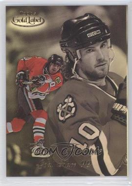 1998-99 Topps Gold Label - Goal Race '99 #GR9 - Tony Amonte