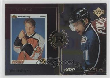 1998-99 Upper Deck - [Base] - Gold Reserve #29 - Peter Forsberg