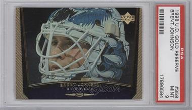 1998-99 Upper Deck - [Base] - Gold Reserve #358 - Brent Johnson [PSA 9]