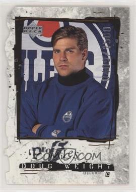 1998-99 Upper Deck - Profiles - Die-Cut Quantum #P22 - Doug Weight /1500 [NoneEXtoNM]