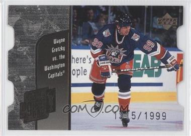 1998-99 Upper Deck - Year of the Great One Wayne Gretzky - Die-Cut Quantum #GO27 - Wayne Gretzky /1999