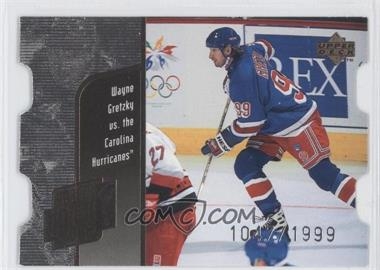 1998-99 Upper Deck - Year of the Great One Wayne Gretzky - Die-Cut Quantum #GO6 - Wayne Gretzky /1999