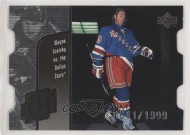1998-99 Upper Deck - Year of the Great One Wayne Gretzky - Die-Cut Quantum #GO9 - Wayne Gretzky /1999