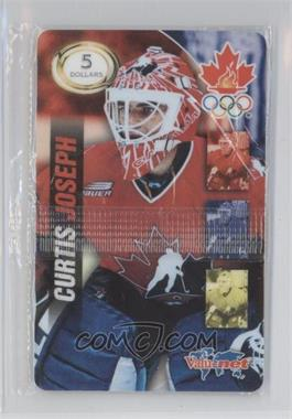 1998 Valu-Net Team Canada Prepaid Phone Cards - [Base] #CUJO - Curtis Joseph