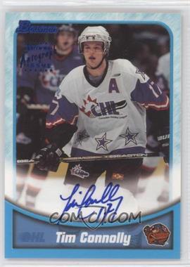 1999-00 Bowman CHL - Autographs #BA31 - Tim Connolly