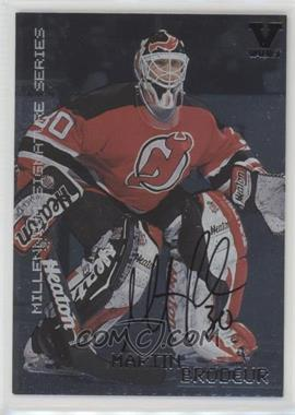 1999 00 In The Game Be A Player Millennium Signature Series Base