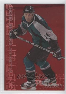 1999-00 In the Game Be A Player Millennium Signature Series - [Base] - Ruby #211 - Jeff Friesen /1000