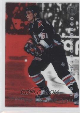 1999-00 In the Game Be A Player Millennium Signature Series - Calder Contenders - Ruby #C-24 - Maxim Afinogenov /1000