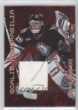 1999-00 In the Game Millennium Signature Series - Goalie Memorabilia #G-07 - Dominik Hasek