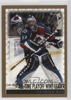 Patrick Roy (All-Time Playoff Wins Leader)