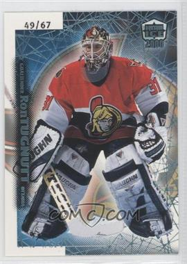 1999-00 Pacific Dynagon Ice - [Base] - Blue #141 - Ron Tugnutt /67