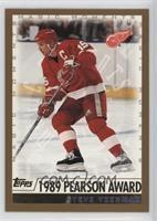 Steve Yzerman (1989 Pearson Award)