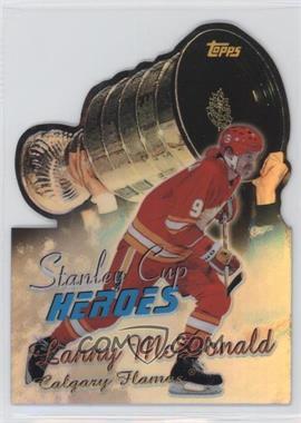 1999-00 Topps - Stanley Cup Heroes - Refractor #SC5 - Lanny McDonald