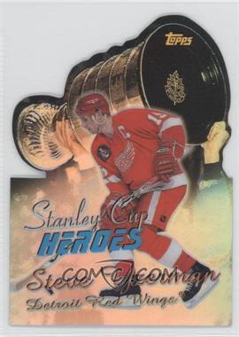 1999-00 Topps - Stanley Cup Heroes - Refractor #SC7 - Steve Yzerman