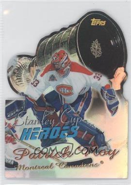1999-00 Topps - Stanley Cup Heroes - Refractor #SC9 - Patrick Roy