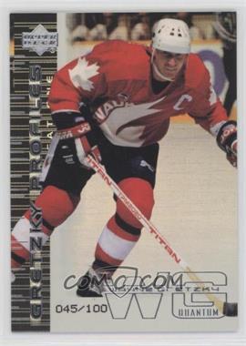 1999-00 Upper Deck - Gretzky Profiles - Quantum Silver #GP5 - Wayne Gretzky /100