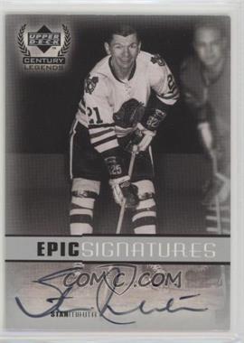 1999-00 Upper Deck Century Legends - Epic Signatures #SM - Stan Mikita