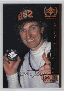 1999-00 Upper Deck Century Legends - Great Moments #GM6 - Wayne Gretzky