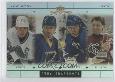 1999-00 Upper Deck MVP - 90's Snapshots #S1 - Wayne Gretzky