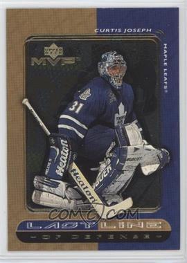 1999-00 Upper Deck MVP - Last Line #LL6 - Curtis Joseph