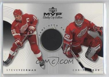 1999-00 Upper Deck MVP Stanley Cup Edition - Great Combinations #GC-YO - Steve Yzerman, Chris Osgood
