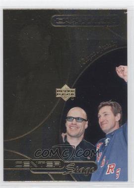 1999-00 Upper Deck Ovation - Center Stage #CS15 - Wayne Gretzky