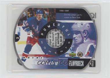 1999-00 Upper Deck Power Deck - Powerful Moments #P4 - Wayne Gretzky